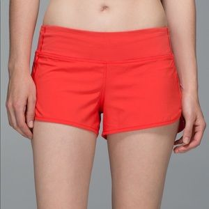 Lululemon Speed Shorts 2.5""